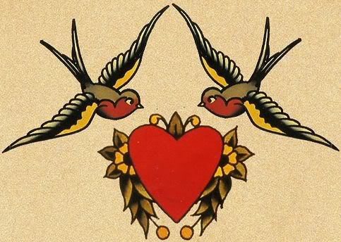 Sailor jerry clip art image royalty free Gallery For > Sparrow Tattoo Sailor Jerry Clipart image royalty free