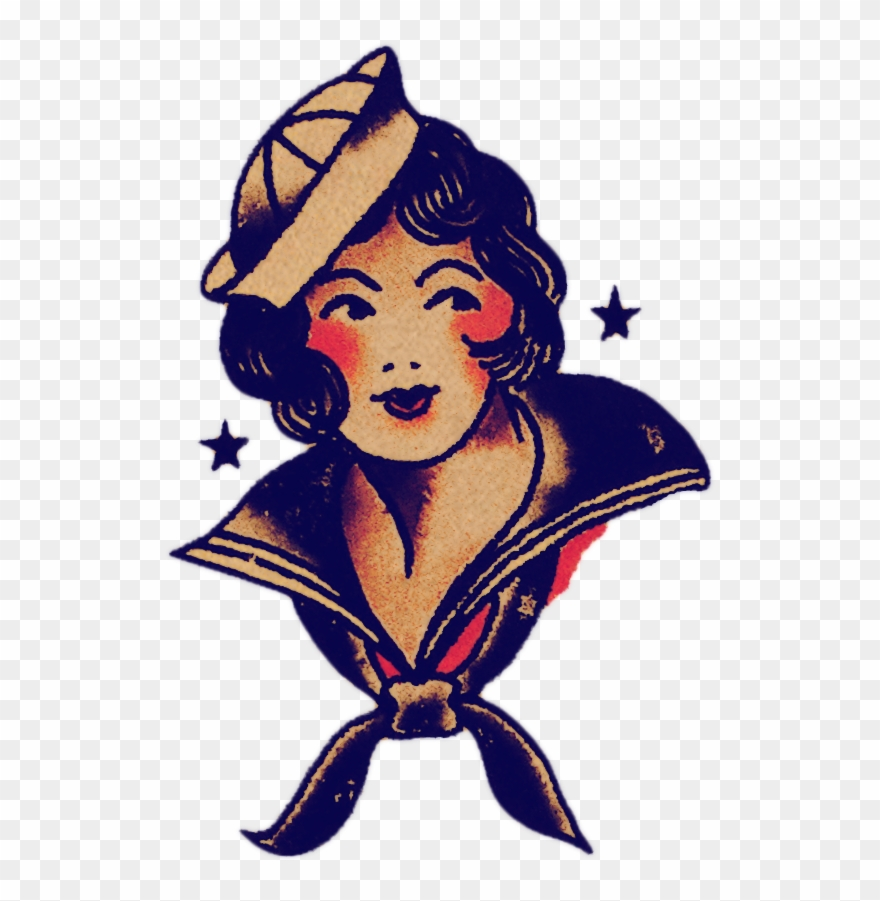 Sailor jerry clipart clip royalty free Sailor Jerry Sailor Woman Clipart (#2439539) - PinClipart clip royalty free
