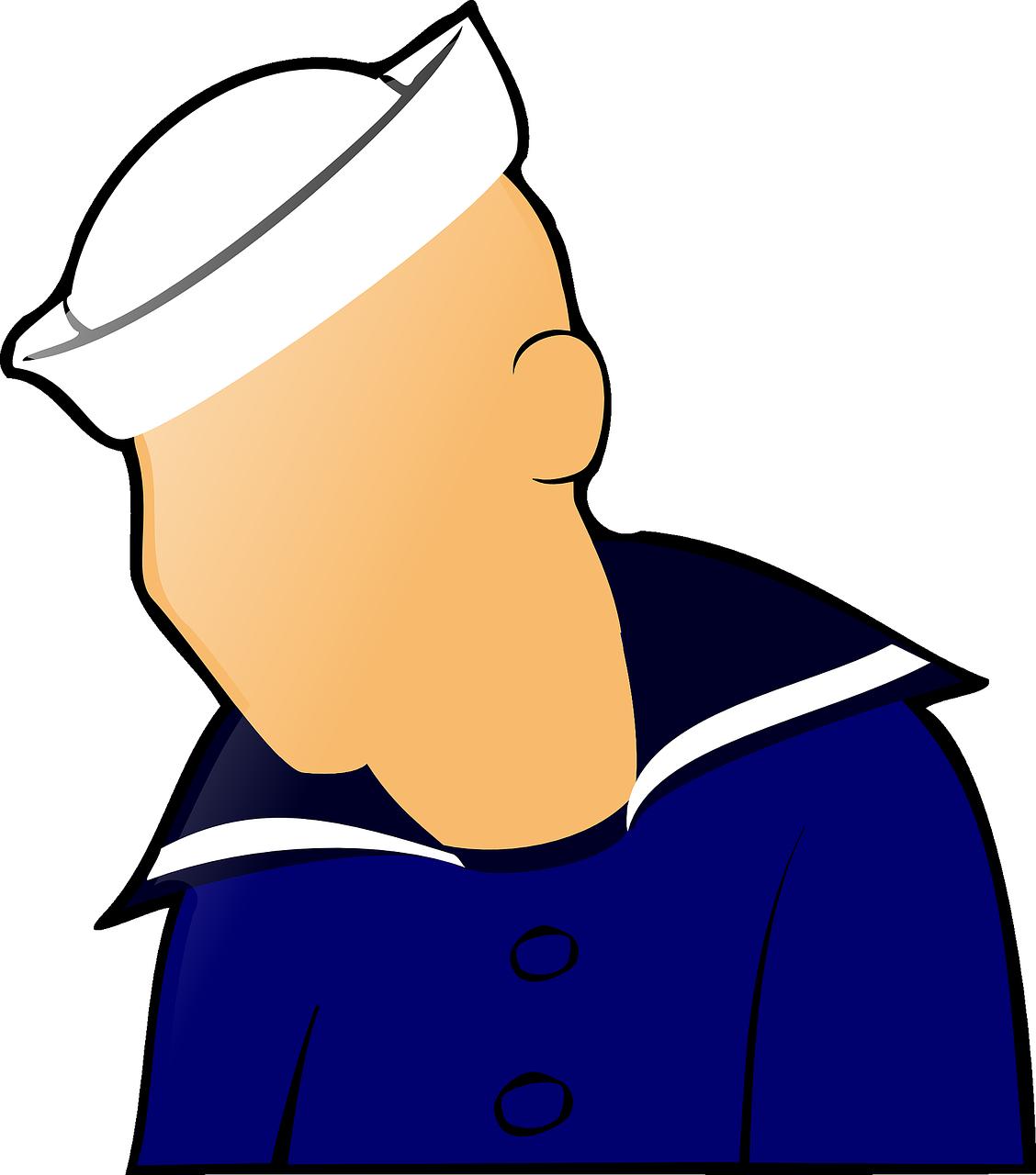 Sailor man clipart clip download Boat, Sailor, Man, Figure, People, Hat #boat, #sailor, #man ... clip download