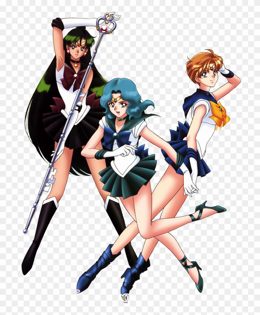 Sailor neptune clipart graphic stock Sailor Moon S Sailor Uranus Sailor Neptune Sailor Pluto ... graphic stock