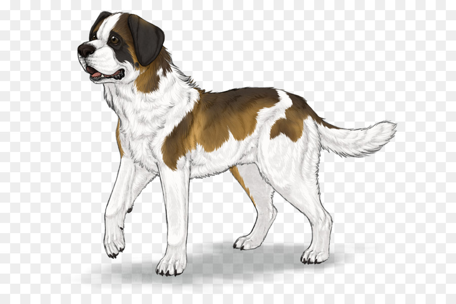 Saint bernard clipart image transparent library Dog Drawing clipart - Puppy, Drawing, Dog, transparent clip art image transparent library