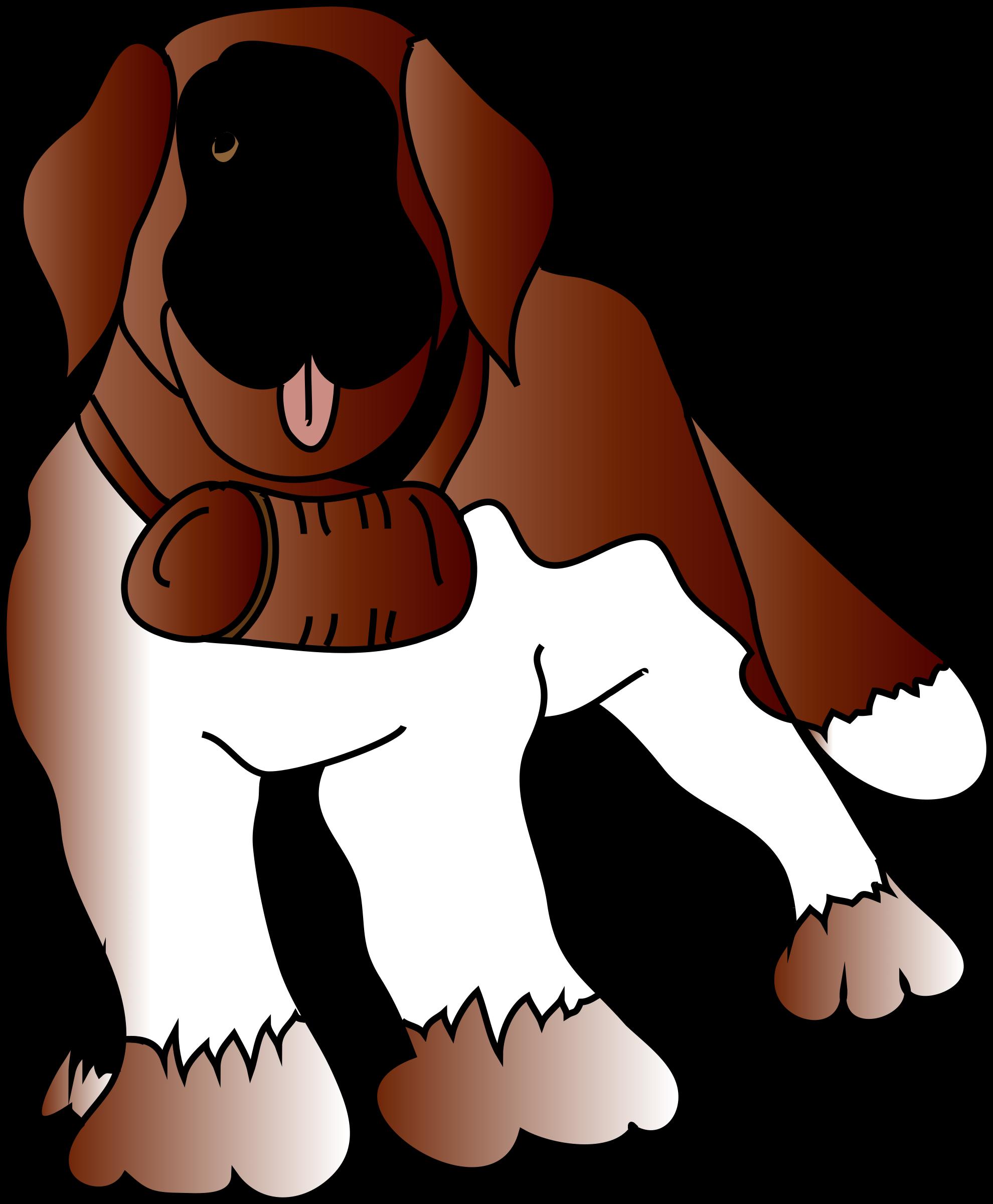 Saint bernard dog clipart banner library library Clipart - saint Bernard\'s dog banner library library