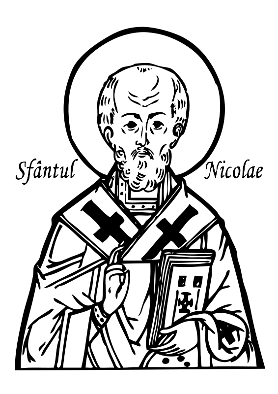 Saint clipart banner royalty free Free Clipart: Saint Nicholas | ovideva banner royalty free