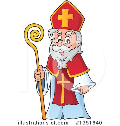 Saint nick clipart clipart royalty free download Saint Nicholas Clipart #1351640 - Illustration by visekart clipart royalty free download