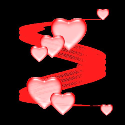 Saint valentin clipart vector transparent stock Tubes St-Valentin | Clip Art~Hearts, Valentine\'s Day, GIF\'s ... vector transparent stock