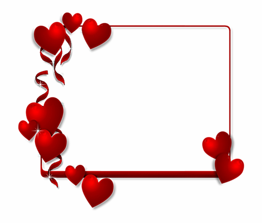 Saint valentin clipart banner library library St Valentin Png - Heart Borders And Frames Free PNG Images ... banner library library