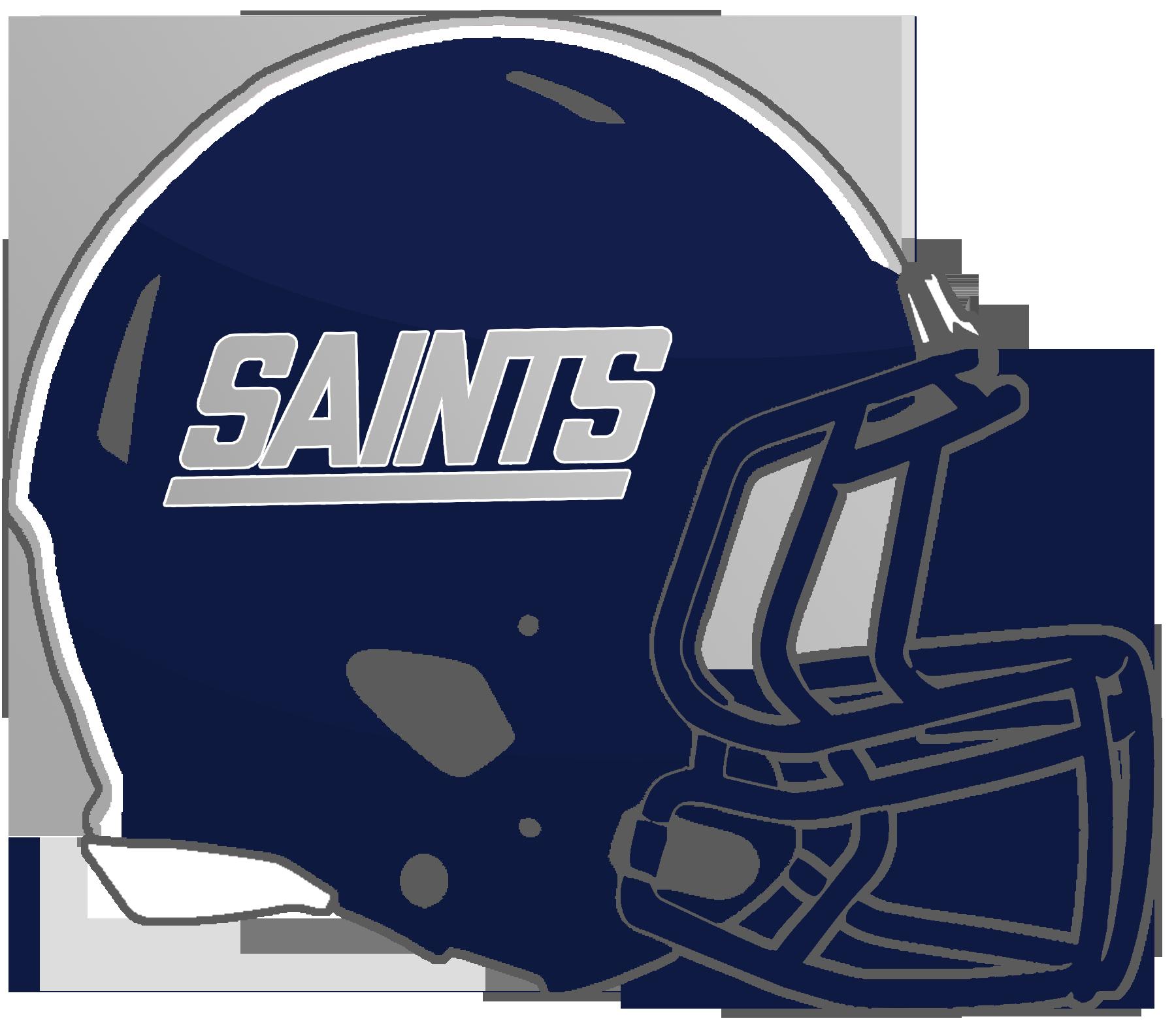 Saints football helmet clipart image free Mississippi High School Football Helmets: 3A image free