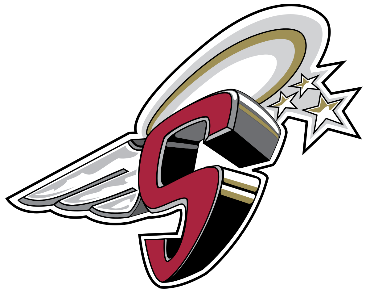 Saints football logo clipart picture black and white Spruce Grove Saints - Wikipedia picture black and white