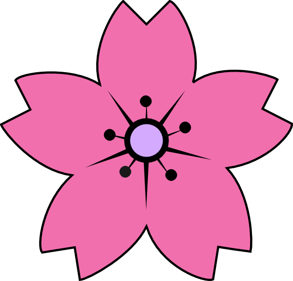 Sakura flower clipart graphic free library Downloads | Clipart Panda - Free Clipart Images graphic free library
