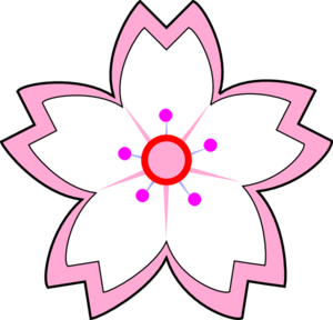 Sakura flower clipart png vector royalty free download Sakura Flower Clipart Png | Clipart Panda - Free Clipart Images vector royalty free download