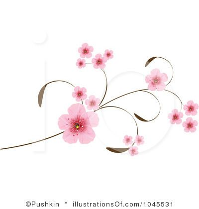 Sakura flower clipart png graphic freeuse stock Sakura flower clipart - ClipartFest graphic freeuse stock