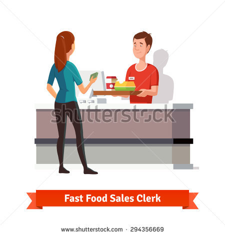Sales clerk clipart clip art library download Sales Clerk Stock Photos, Royalty-Free Images & Vectors - Shutterstock clip art library download