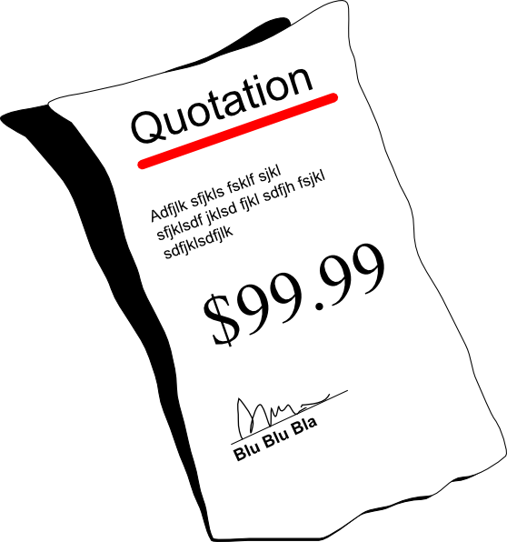 Sales quote clipart picture library download Quotation Clip Art at Clker.com - vector clip art online ... picture library download