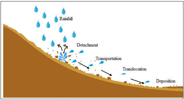 Salinization clipart clip freeuse Mechanism of water erosion [117]. | Download Scientific Diagram clip freeuse