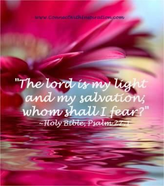 Salmo 116 1-2 clipart picture transparent stock The lord is my light and my salvation; whom shall I fear ... picture transparent stock