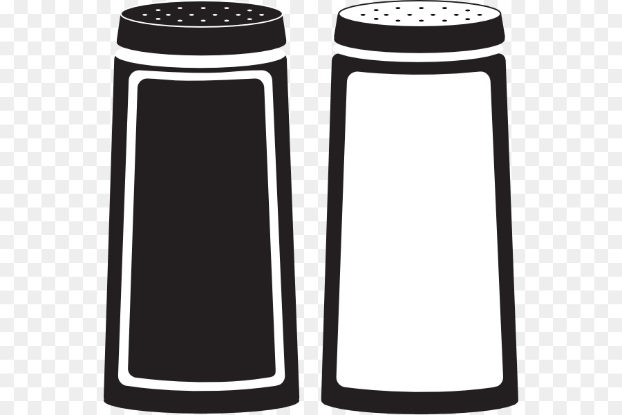Salt pepper shakers clipart