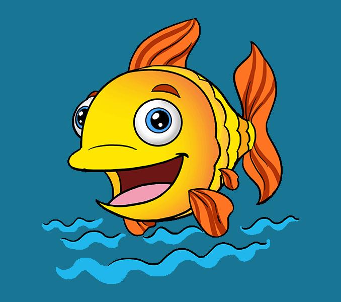 Salt water fish clipart banner free stock Cute cartoon marine fish vector cartoon fish lovely marine jpg ... banner free stock