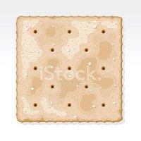 Saltine cracker clipart
