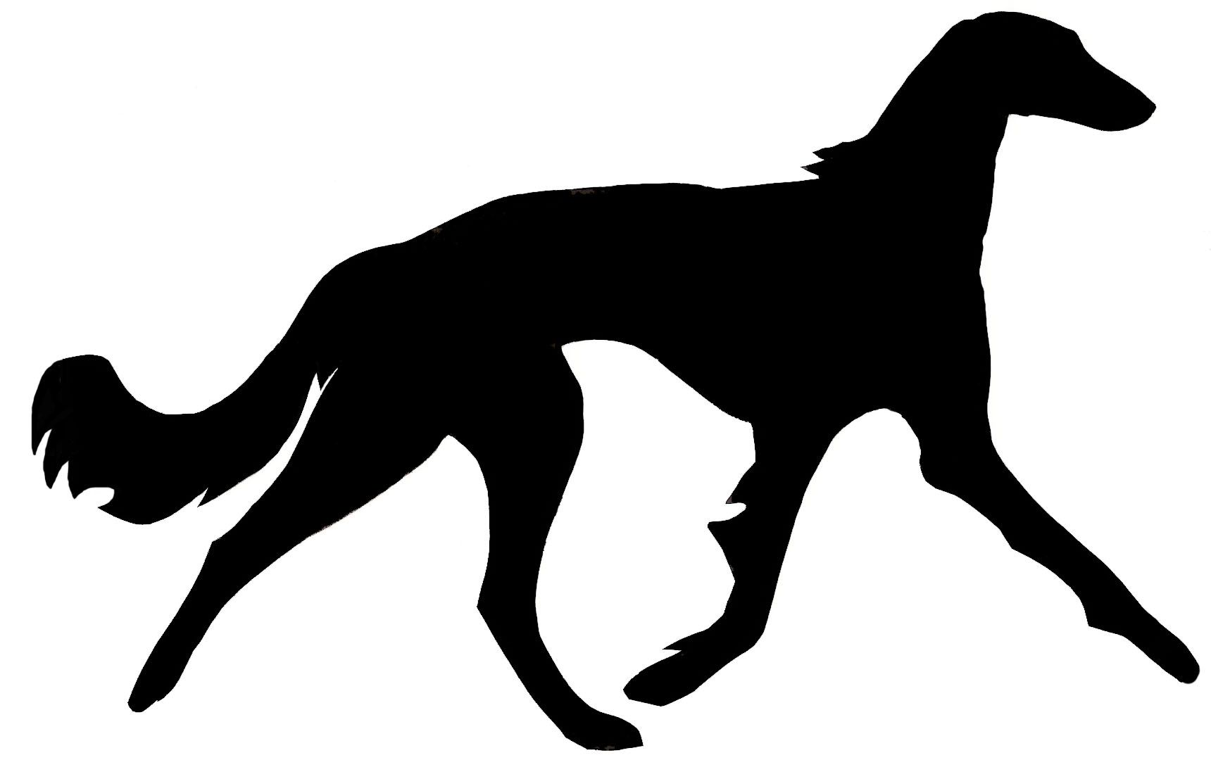 Saluki clipart image royalty free library Saluki Silhouette stevesuniques.com   Greyhounds, Salukis ... image royalty free library