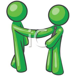 Salutation clipart clip royalty free Two Men Shaking Hands Greeting Each Other - Royalty Free ... clip royalty free