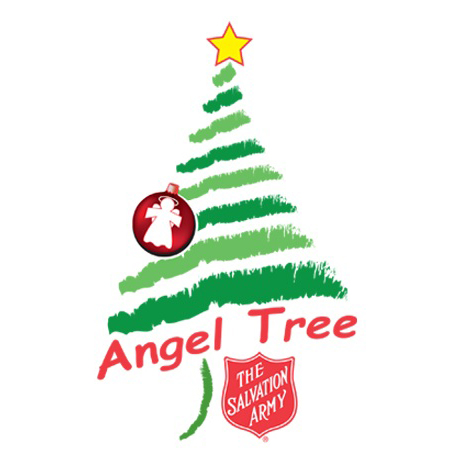 Salvation army angel tree clipart vector freeuse download Salvation Army Celebrates 25 Years Of Angel Tree ... vector freeuse download