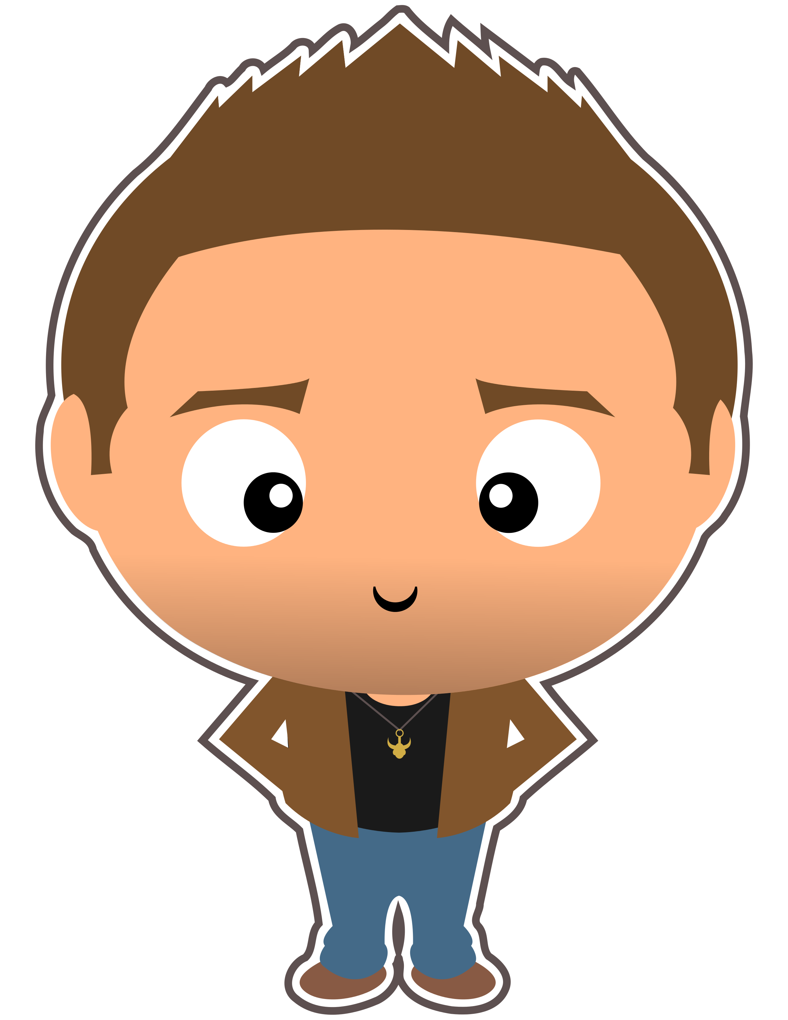 Sam winchester clipart banner royalty free stock Supernatural Clipart - Dean Winchester - Cute Funko Pop ... banner royalty free stock
