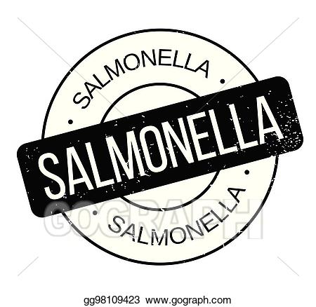 Samonella clipart image library download Vector Art - Salmonella rubber stamp. Clipart Drawing ... image library download
