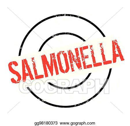 Samonella clipart clip library Vector Art - Salmonella rubber stamp. Clipart Drawing ... clip library