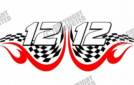 Sample clipart file download clipart transparent stock Free Sample Racing Design Numbers Vector Image Download ... clipart transparent stock