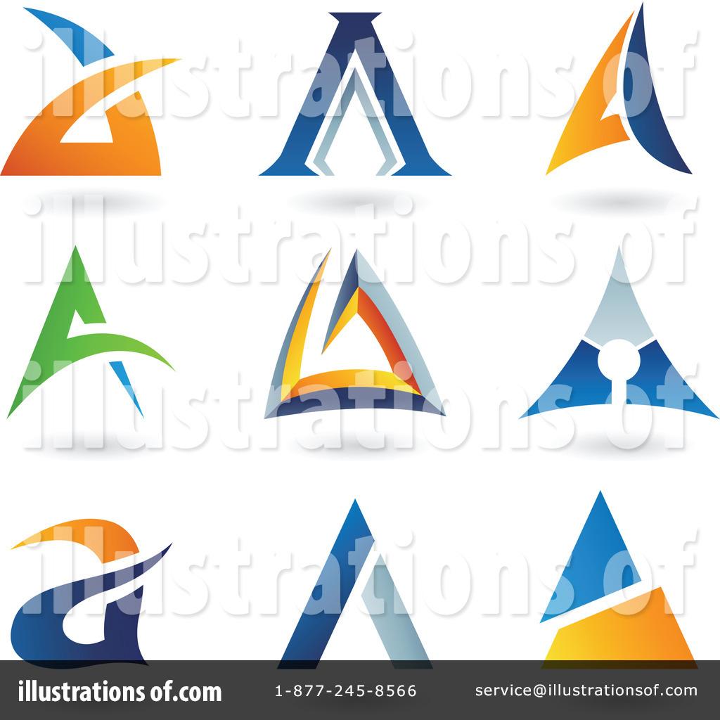 Sample logo clipart clip art black and white library Letter Logo Clipart #1067270 - Illustration by cidepix clip art black and white library