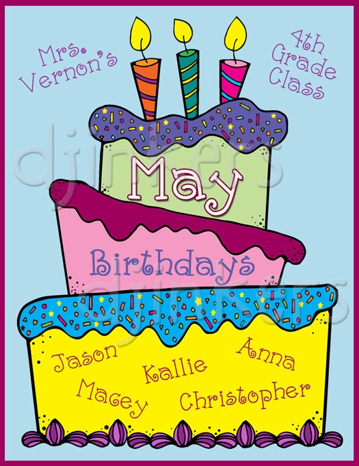 Samples of cake clipart clip art royalty free Birthday cake & fun month clip art by DJ Inkers - DJ Inkers clip art royalty free