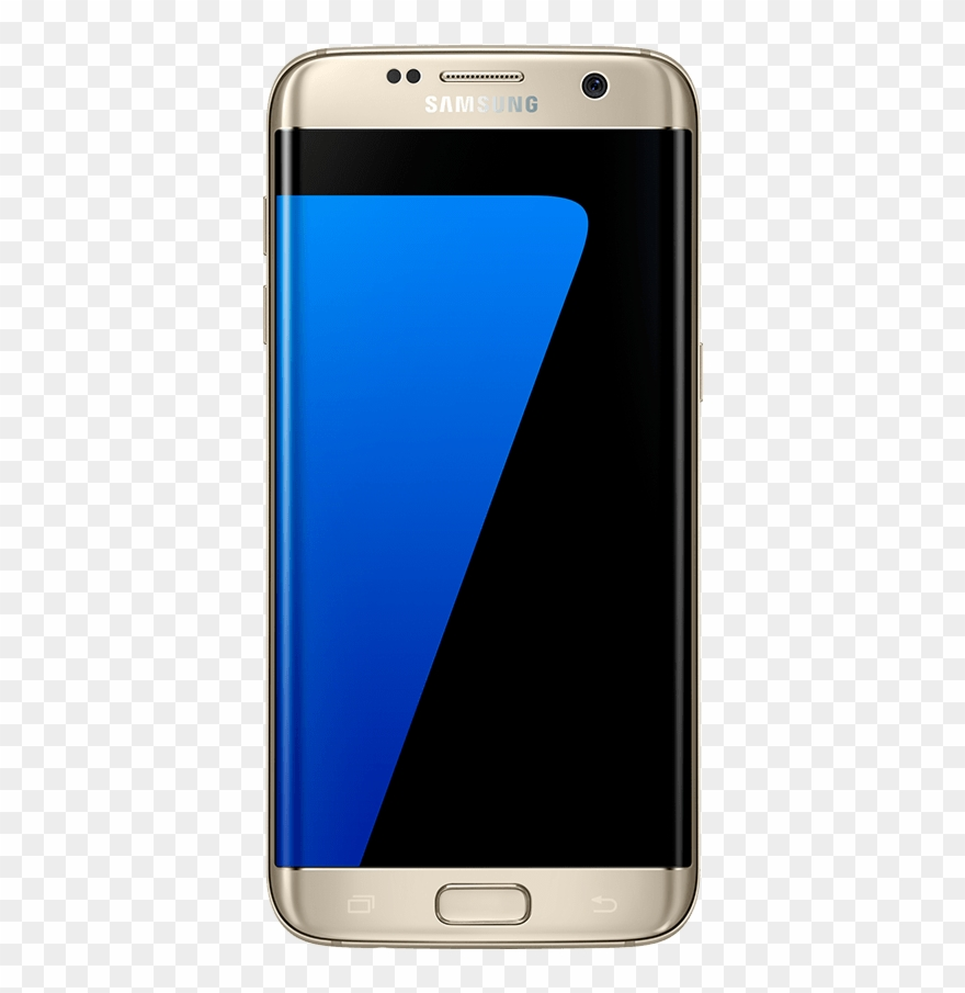 Samsung galaxy s7 clipart png library stock Samsung S7 Front View Mockup - Samsung Galaxy S7 Edge Silver ... png library stock