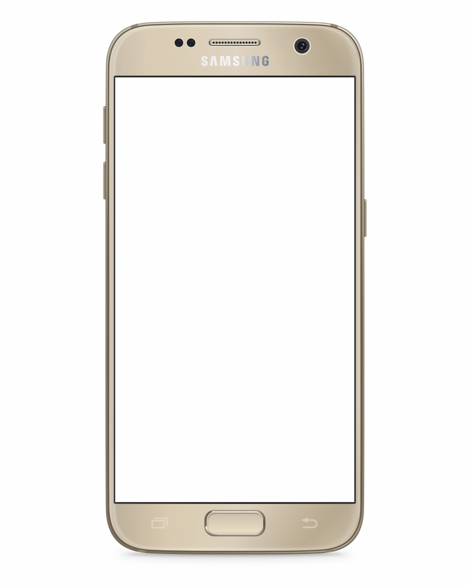 Samsung galaxy s7 clipart black and white stock Transparent Samsung Galaxy S7 Gold - Samsung Galaxy S7 Png ... black and white stock