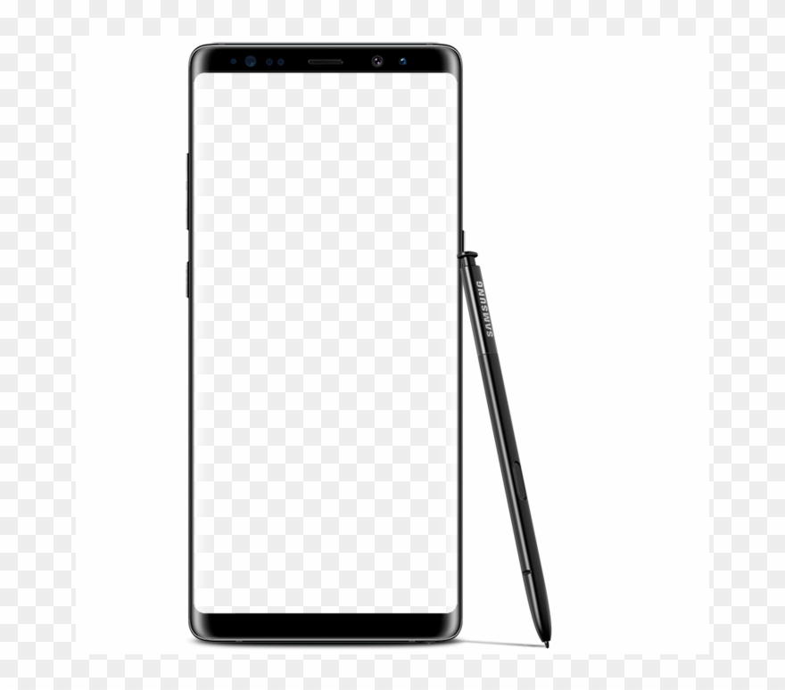 Samsung note 8 clipart