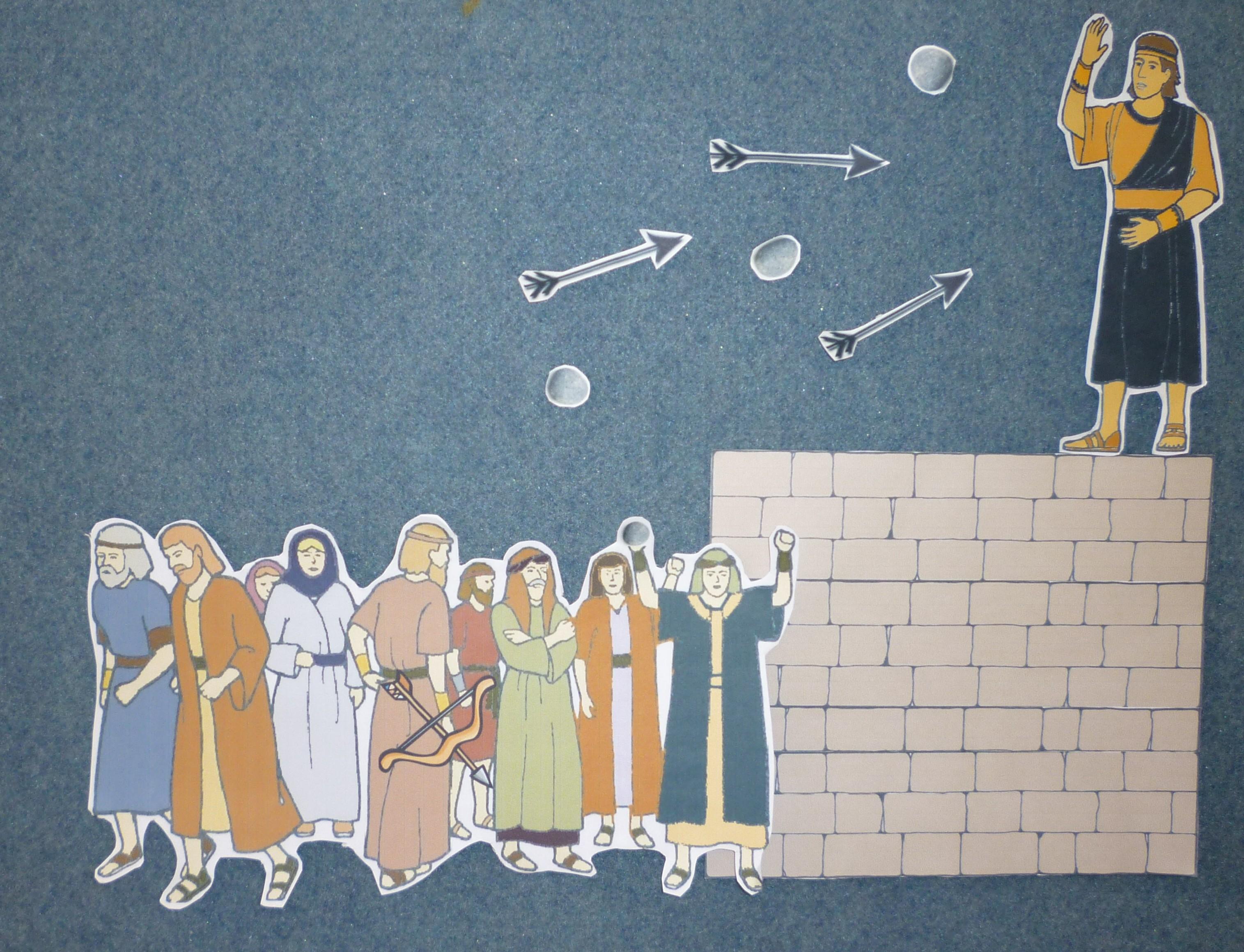 Samuel the lamanite clipart graphic royalty free stock Lesson 31: Samuel the Lamanite - Teaching Children graphic royalty free stock