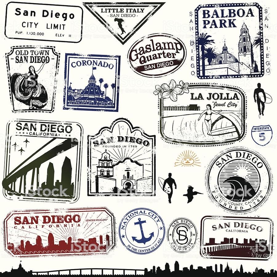 San diego california clipart image free download Download San Diego County, California clipart San Diego Drawing image free download