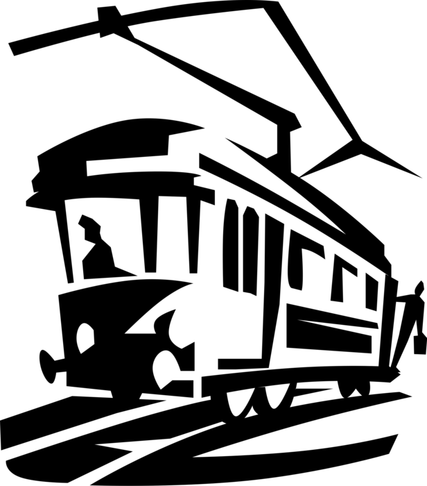 Tram Drawing at GetDrawings.com | Free for personal use Tram Drawing ... svg royalty free