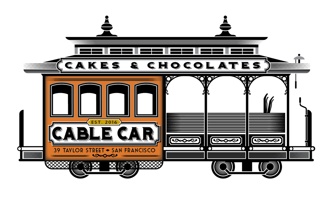 Cable Car Cakes and Chocolates - HOME vector freeuse download