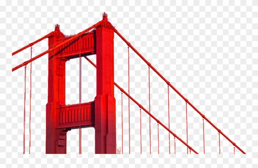 San fransisco bridge clipart