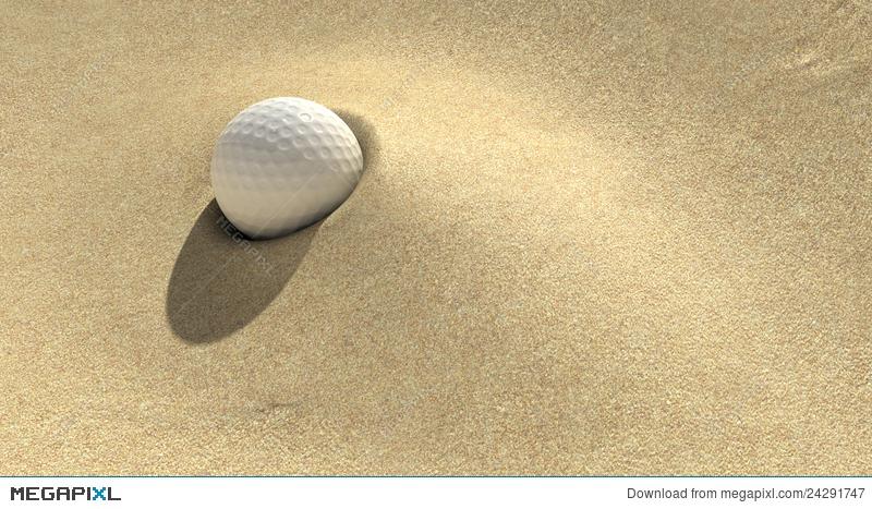 Sand trap clipart picture Golf Sand Trap Illustration 24291747 - Megapixl picture