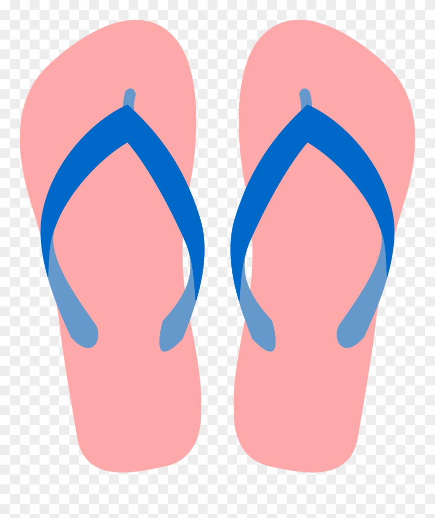 Sandas clipart vector free Clip Art Sandals - Clipart Slipper - Png Download (#62660 ... vector free
