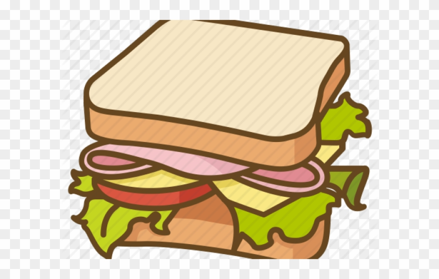 Sandwhich clipart free library Sandwich Clipart Blt - Bread - Png Download (#693128 ... free library