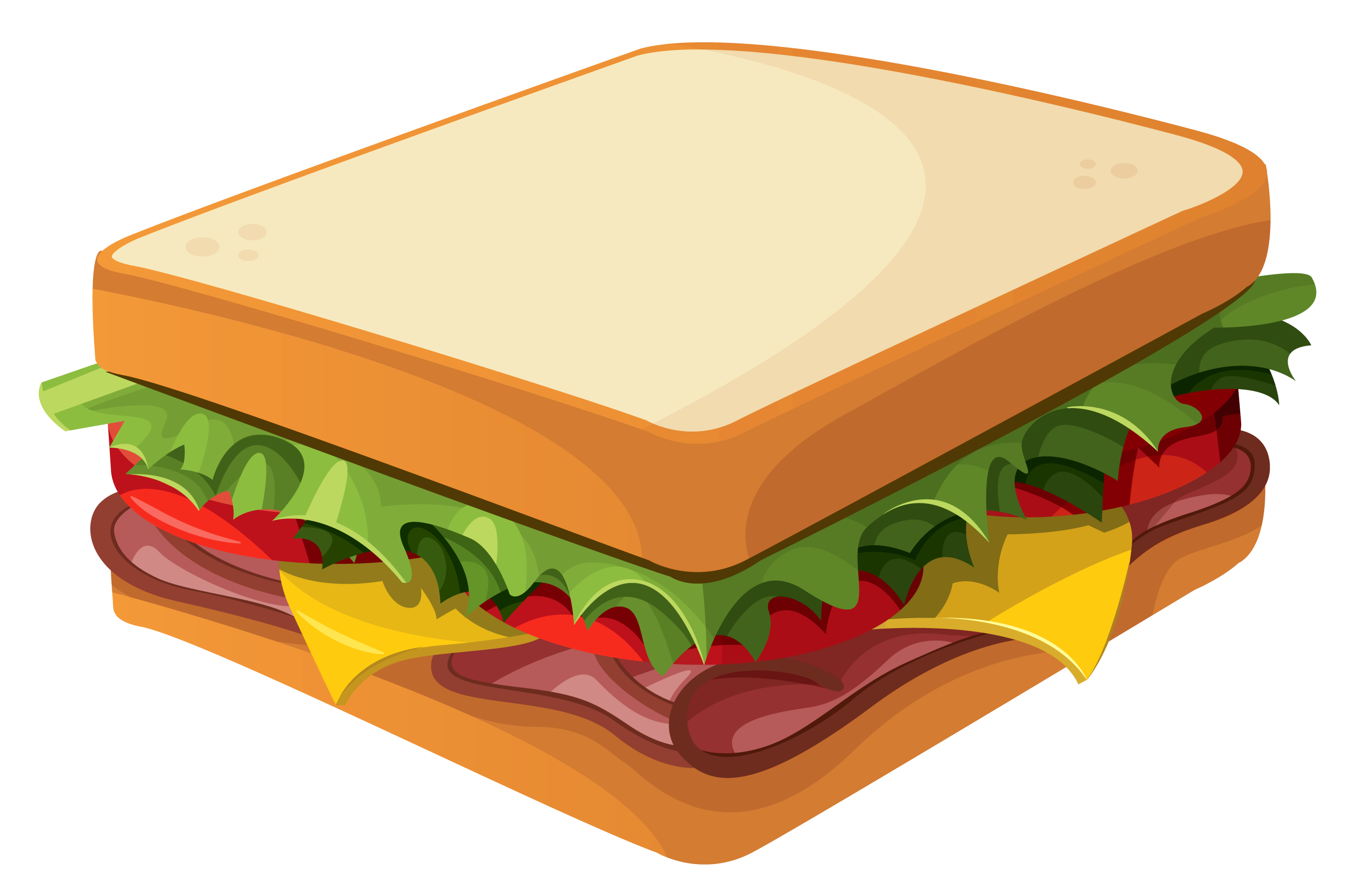 Sandwhich clipart svg stock Sandwich PNG Clipart Vector Picture | Gallery Yopriceville ... svg stock