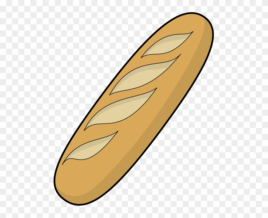Sandwich french bread clipart svg download Bread Clipart - French Baguette Clip Art - Png Download ... svg download