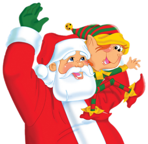 Santa and elves clipart image freeuse stock Santa and Elf PNG Clipart   Gallery Yopriceville - High ... image freeuse stock