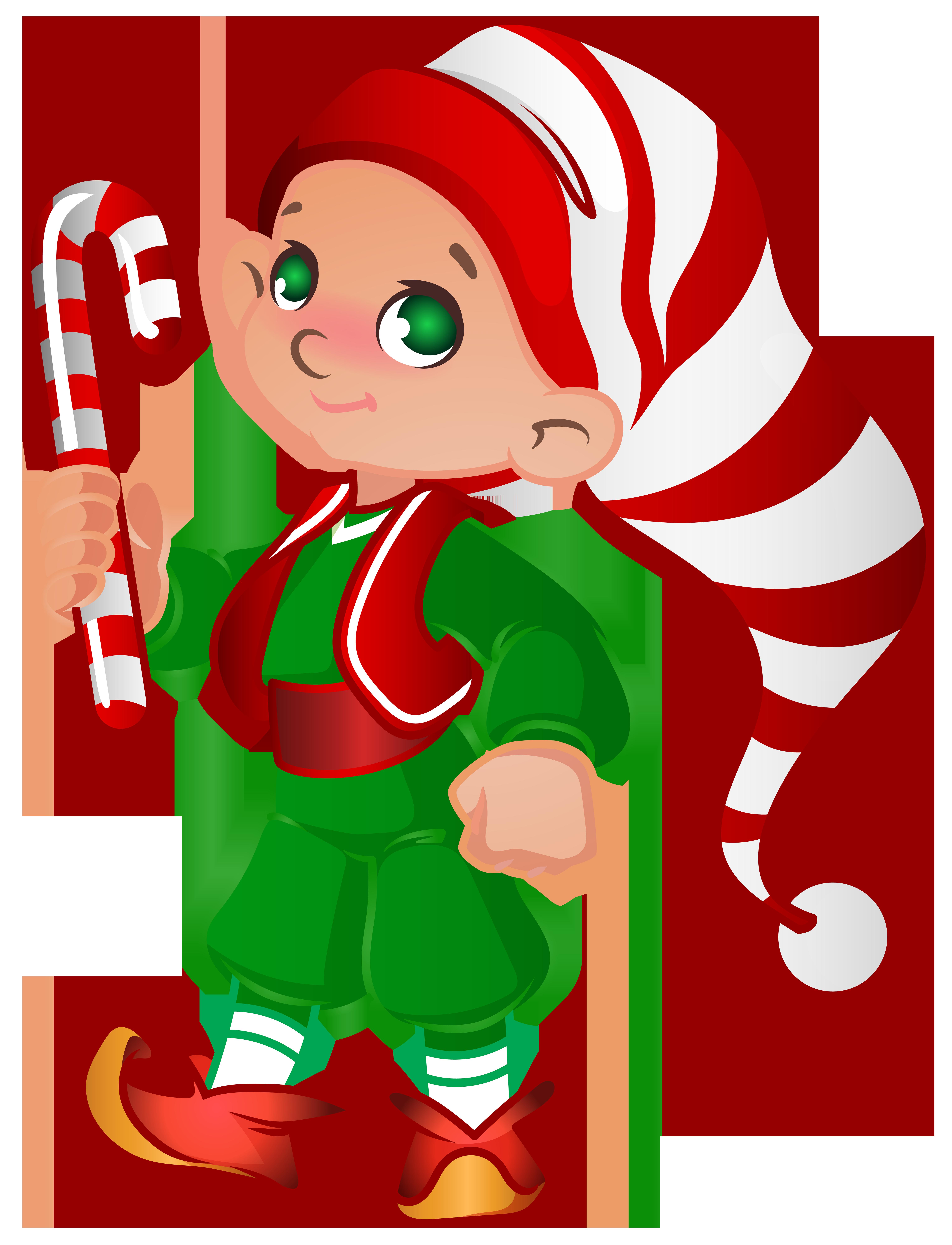 Santa and elves clipart clipart free Elf Santa Helper Transparent PNG Clip Art Image   Gallery ... clipart free