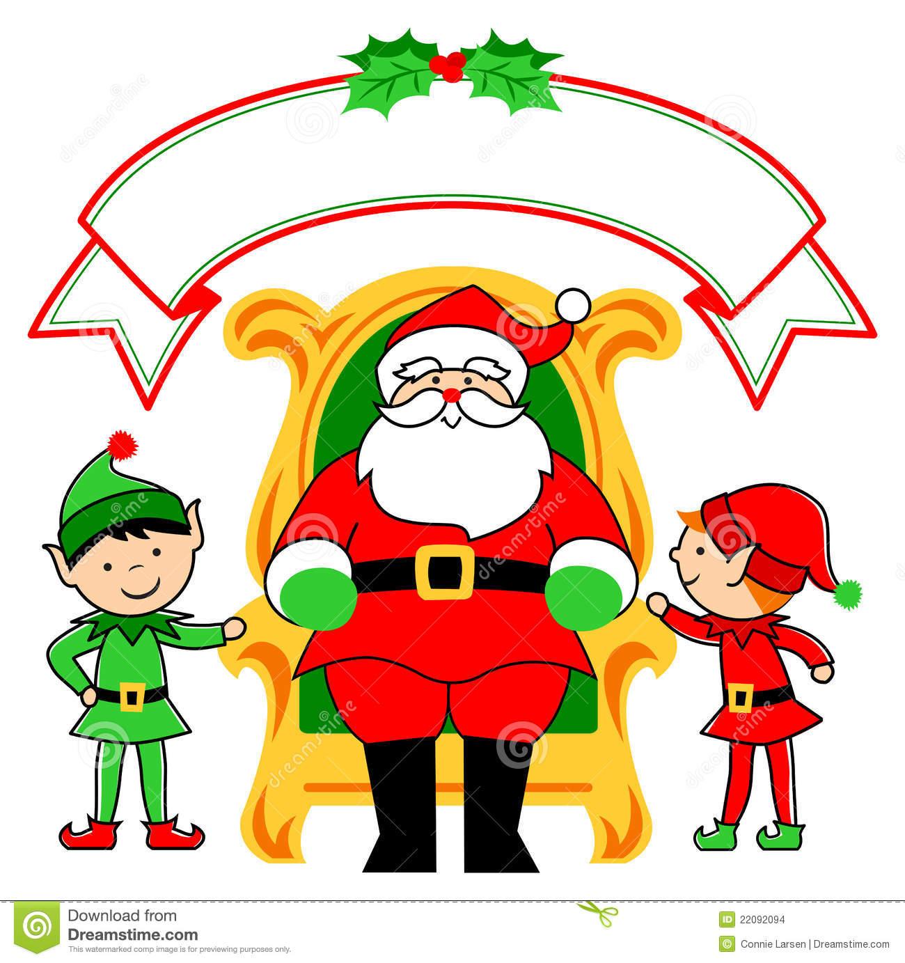 Santa and elves clipart svg transparent library Santa and elves clipart 5 » Clipart Station svg transparent library