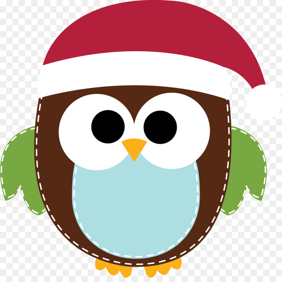 Santa and owls clipart png library Christmas Gift Card png download - 1600*1575 - Free ... png library