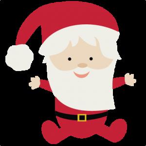 Santa baby clipart