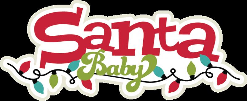 Santa baby clipart clip free library Santa Baby SVG scrapbook title santa svg title christmas ... clip free library